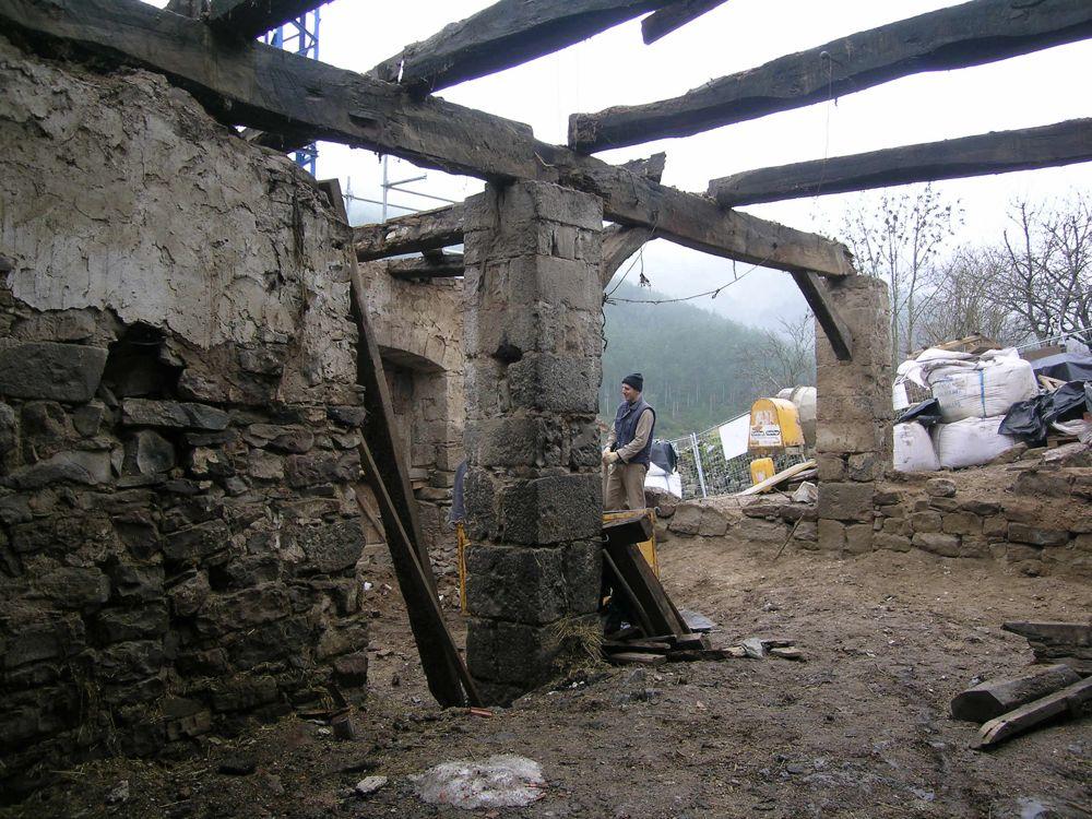 Reconstruccion Torre de Uriz - DSCN8121.JPG