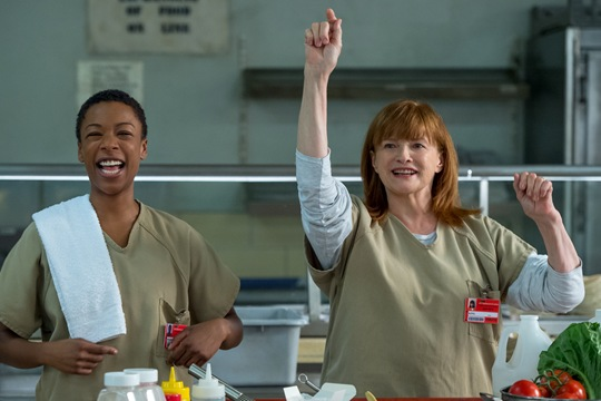 Samira Wiley and Blair Brown star in OITNB season 4