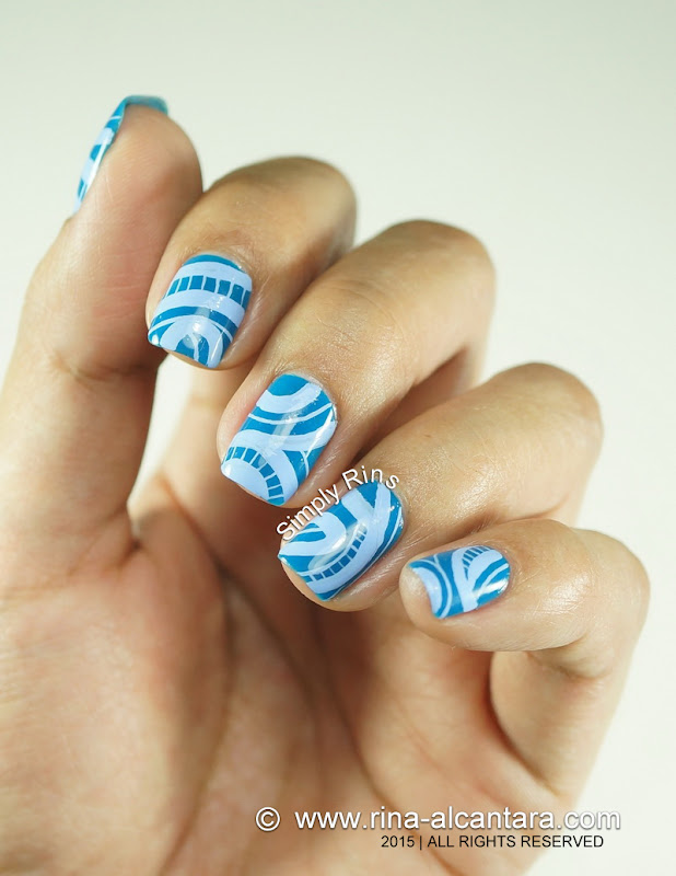 No Direction Abstract Nail Art