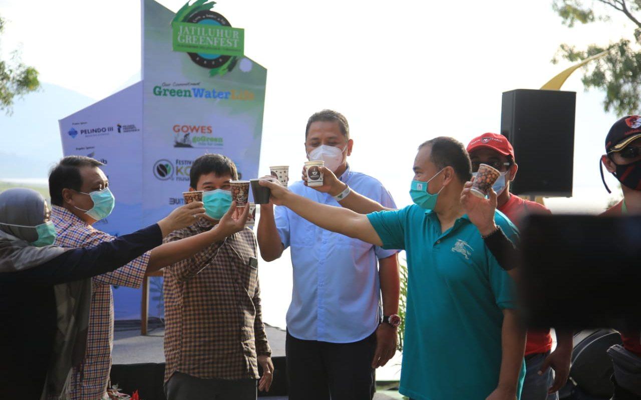 Jasa Tirta II menggelar Jatiluhur Green Festival Selama Dua Hari