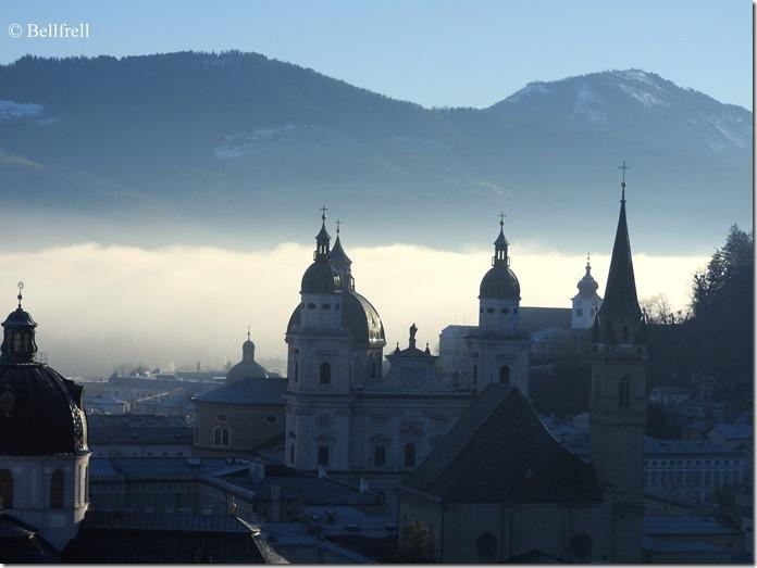Salzburg mit Nebelschwade 3