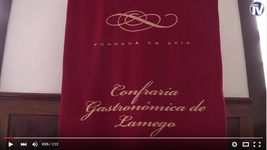 Vídeo - Posse dos Órgãos Sociais da Confraria Gastronómica de Lamego