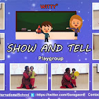 Show and Tell Activity - Recap of Shapes by Playgroup Section (2018-19), Witty World, Goregaon East