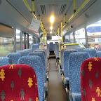 het interieur van de Mercedes van Pouw bus 209/4292