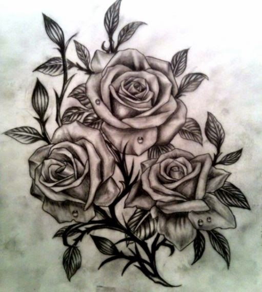 55 Best Rose Tattoos Designs   Best Tattoos for 2015   Pretty