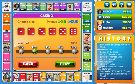 CrazyPoly - Business Dice Game  screenshots 13