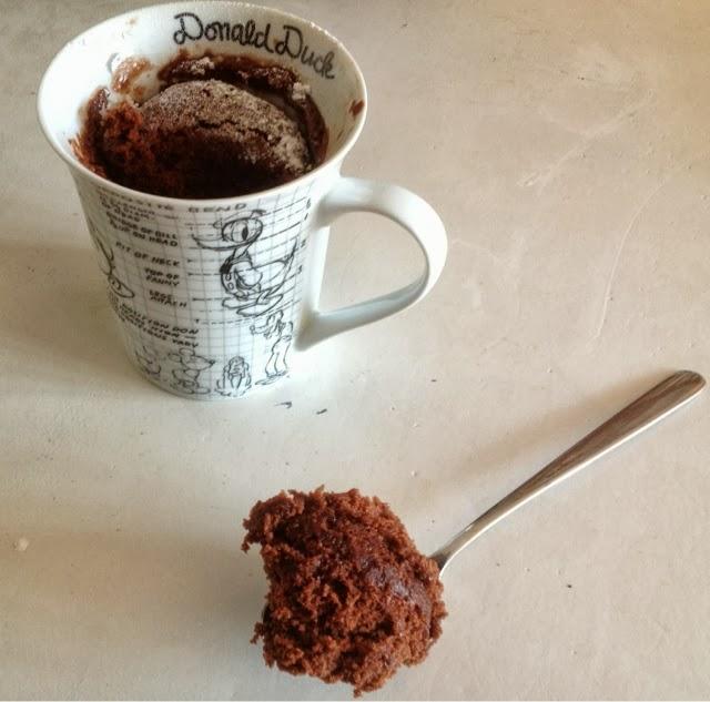 how to make a mug cake no egg