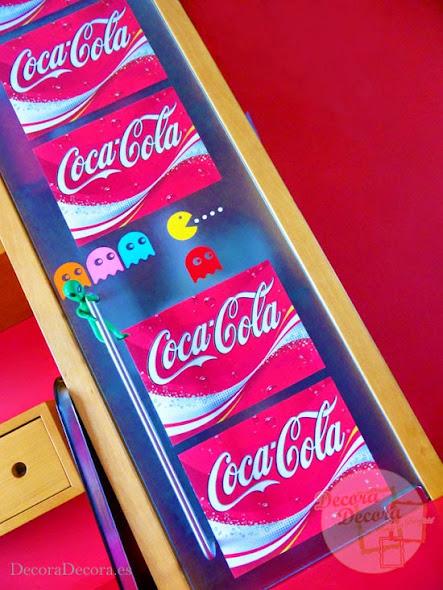 Decoración Coca-Cola.
