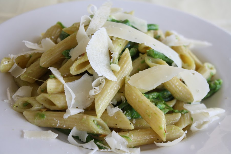 Food Bloggers Against Hunger   Penne and Asparagus {Friday Food Fight}