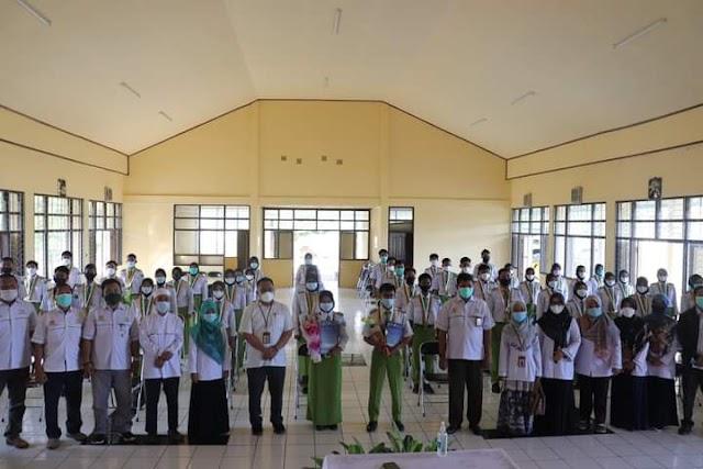 Resmi Lulus, 112 Siswa SMK-PP Negeri Banjarbaru Dilepas Sekolah