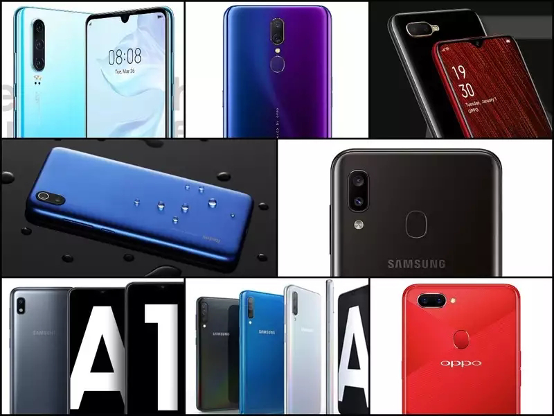 8 highest-selling Android smartphone globally in 2019.