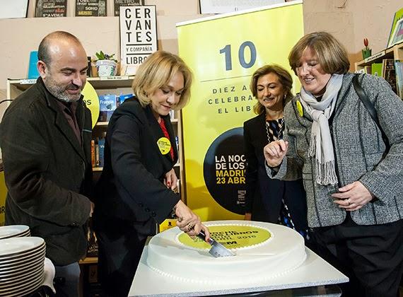 Más de 600 actividades en la décima edición de La Noche de los Libros