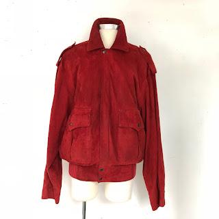 Saint Laurent Vintage Suede Jacket