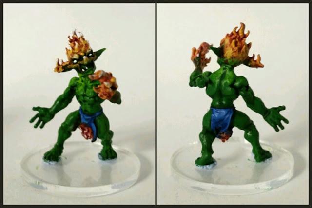 Goblin antorchagoblin pintado por Xela