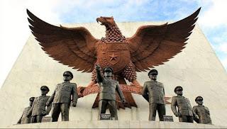 gambar pahlawan, monumen memperingati Pancasila
