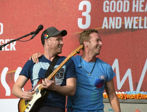 2015 Global Citizen Festival  Coldplay