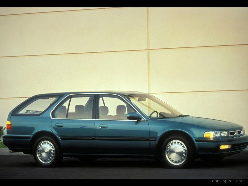 1991 Honda Accord Wagon Specifications Pictures Prices