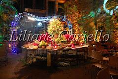 Fotos de decoração de casamento de Casamento Julia e Erico no Cais do Oriente da decoradora e cerimonialista de casamento Liliane Cariello que atua no Rio de Janeiro e Niterói, RJ.