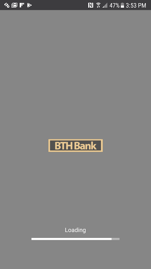 BTH Bank Mobile- screenshot