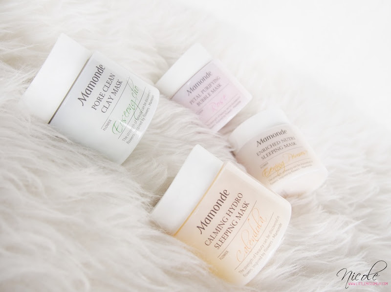 Mamonde – The Flower Facial Mask Line