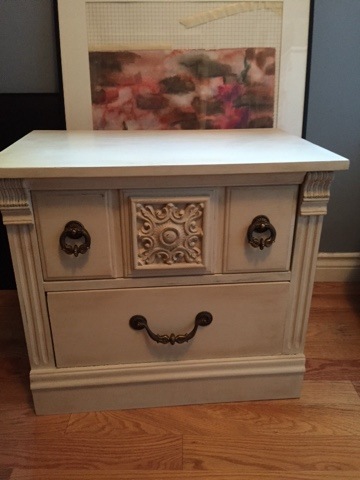 chalk wax revives furniture, www.moderngillie.com
