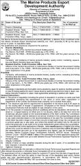 MPEDA Deputation Vacancy 2020 indialjobs