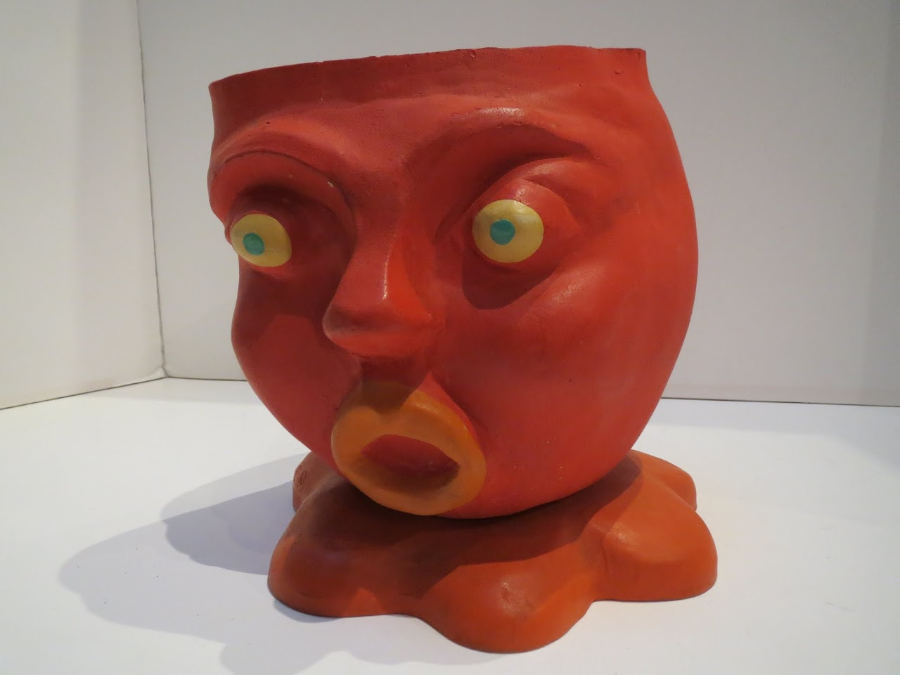 Rubber Shocked Face Planter