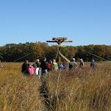 Guilford Salt Meadow Sanctuary Osprey Platform - sfs%252C10-25-09%2Bosprey%2Bplatform%2Binstall%252C070.JPG