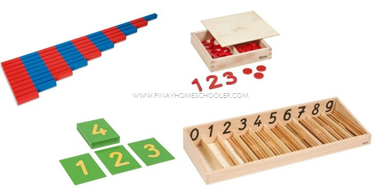 Early Child Montessori Math Materials Group 1