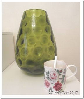 Very Large Green Vase