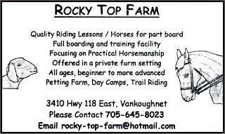 Rocky Top Farm Vankoughnet, Ontario  705-645-8023