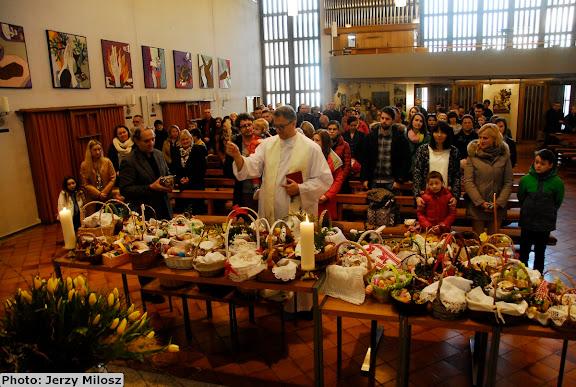 Święcenie pokarmów w Zuchwilu