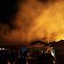 Kebakaran Hebat Pabrik Oven Kayu di Palabuhanratu Ludes Terbakar