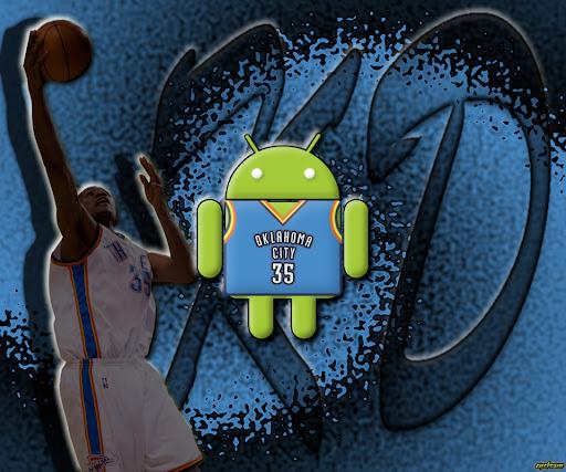 Oklahoma City Thunder Kevin Durant Android wallpaper by eyebeam