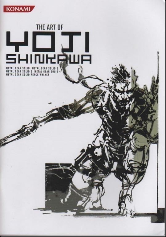 The Art of Yoji Shinkawa 1 - Metal Gear Solid, Metal Gear Solid 3, Metal Gear Solid 4, Peace Walker_802479-0001