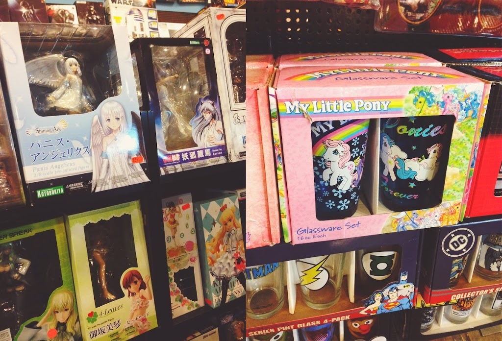 hotspots in New York Forbidden Planet comis books strip my little pony manga