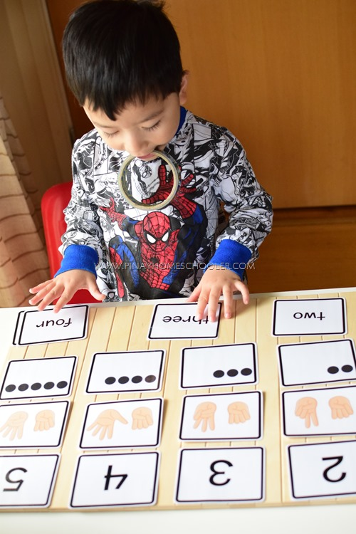Number Symbols for Counting and Number Recognition