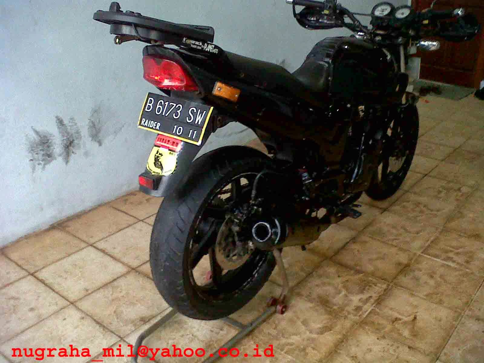 honda tiger modifikasi trail