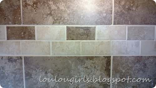 How To Do A Backsplash by Lou Lou Girls