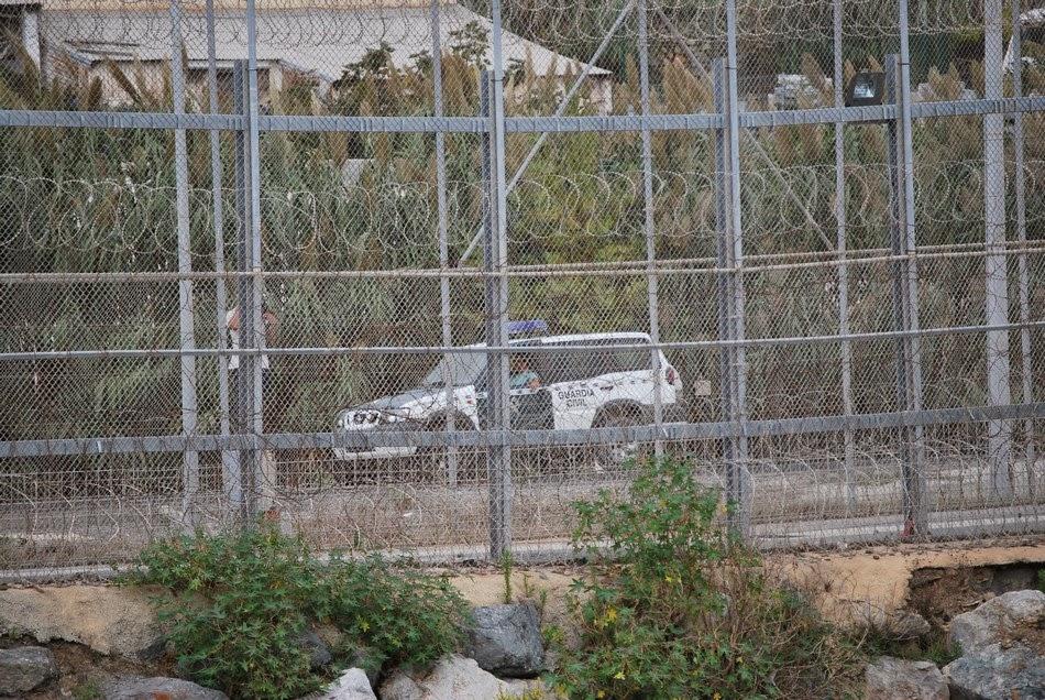 Caravana a la valla de Ceuta 48
