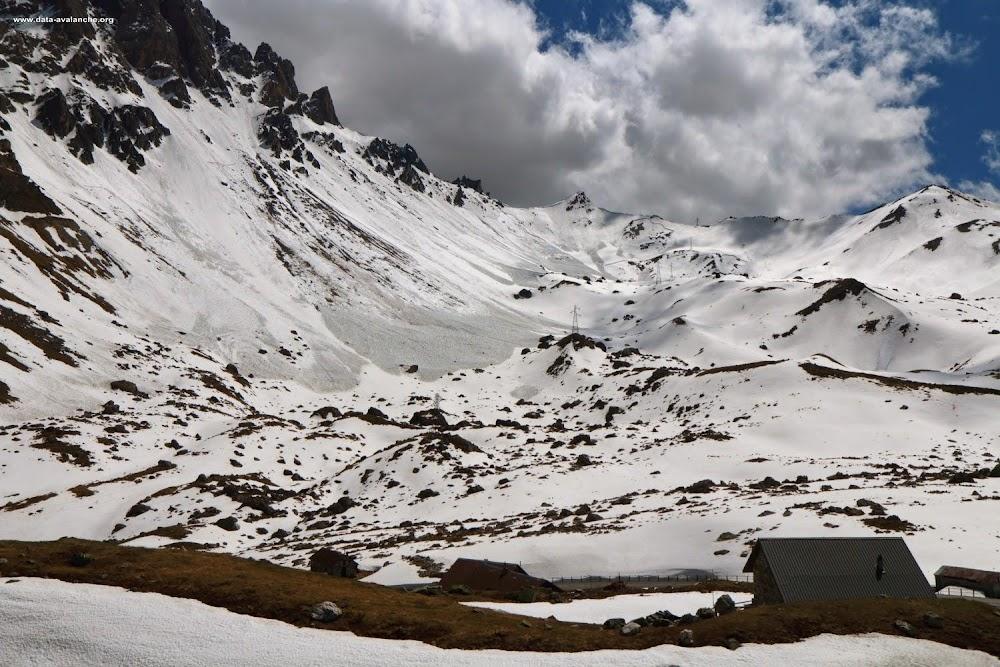 Avalanche Cerces, secteur Grand Galibier, Pointe de la Tête Noire - Terres Vieilles - Col du Clot Julien - Photo 1