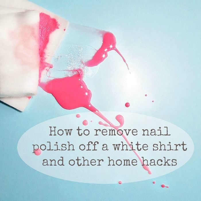 How_to_Remove_Nail_Polish_Off_A_White_Shirt