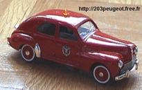 4553 Peugeot 203 Pompiers 1954