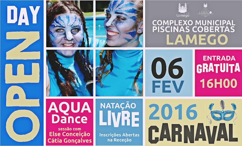 Carnaval dá direito a entrada gratuita nas Piscinas de Lamego