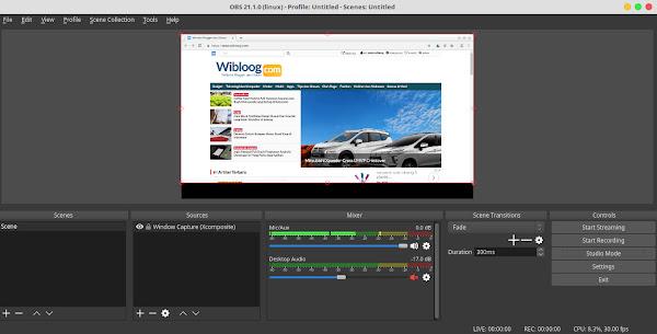 OBS Studio Aplikasi Video Recording dan Screen Recording Gratis