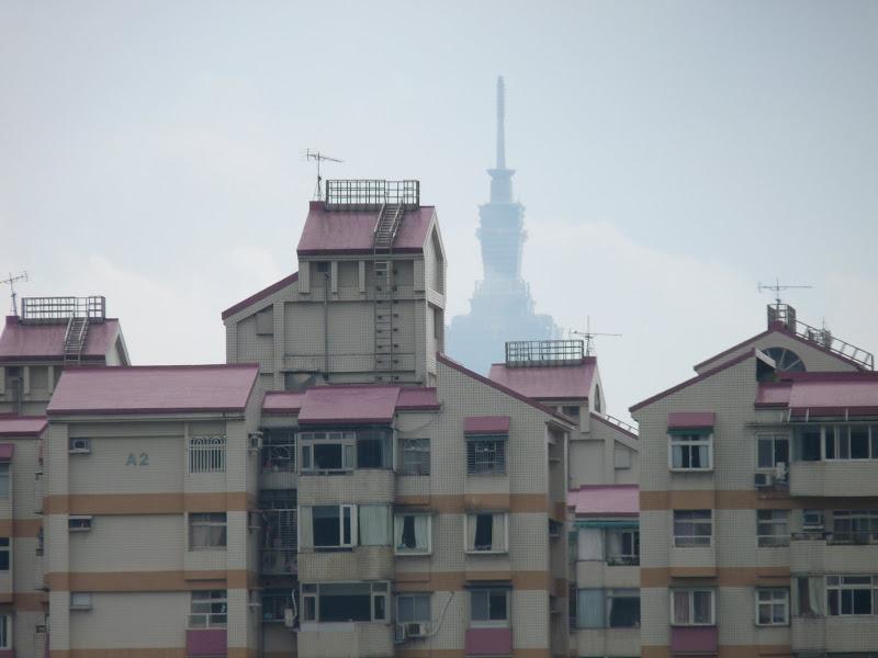 Taipei 101 vue de loin