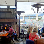 breath-taking view and lunch at the Sand Bar in Vancouver in Vancouver, British Columbia, Canada