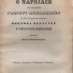 """Józef Stanisławski """"O napojach pod względem policyi lekarskiej"""", Drukarnia Uniwersytecka, Kraków 1848.jpg"""