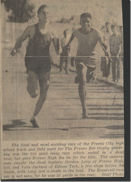 City Track Title Tie 1944