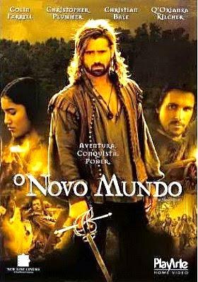 Filme Poster O Novo Mundo DVDRip XviD & RMVB Dublado